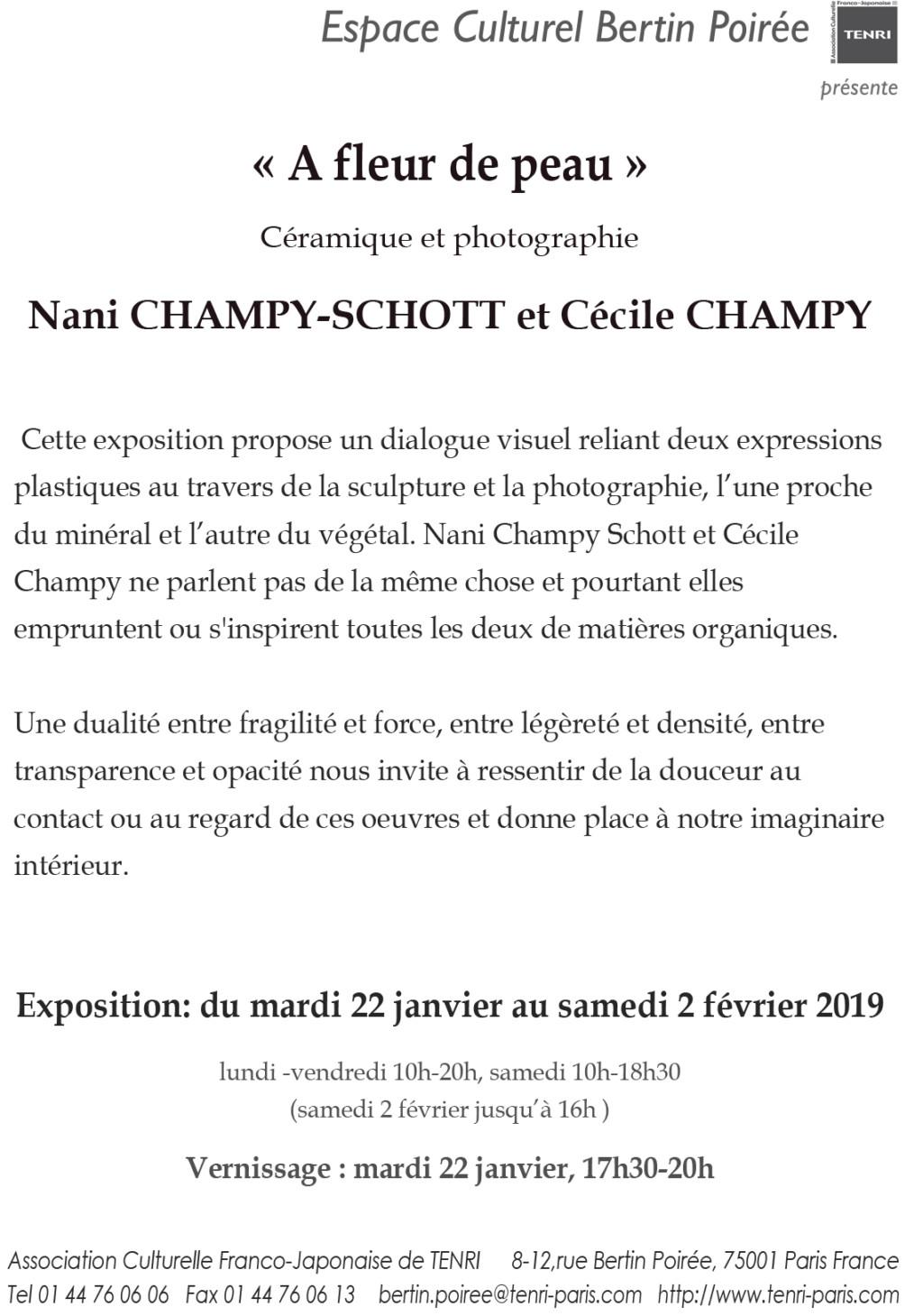 Nani Champy Schott Actualité